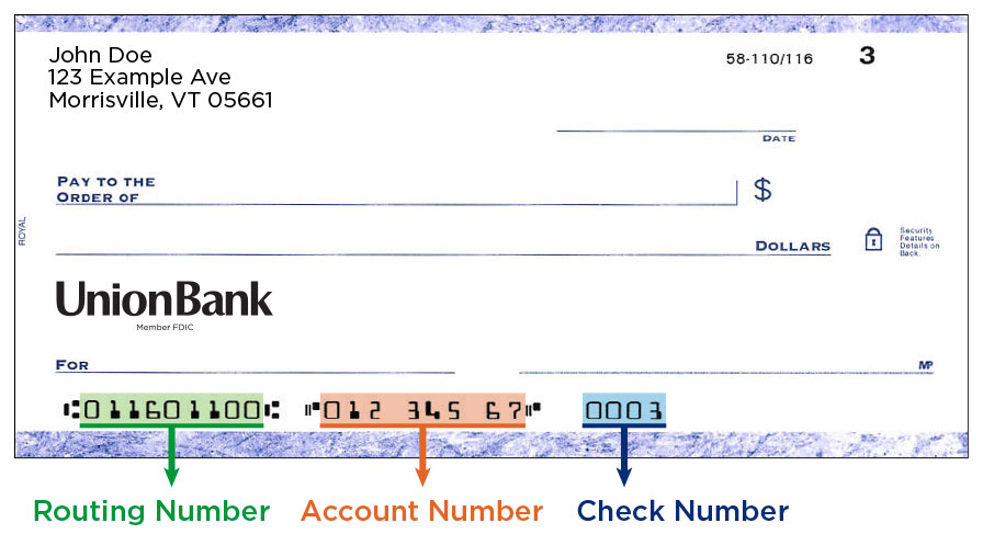 bank of america routing numbers southern california